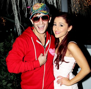 Grande and her brother