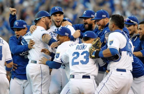The Royals are tasting success for the first time in decades while the Giants are reveling in success / Reuters