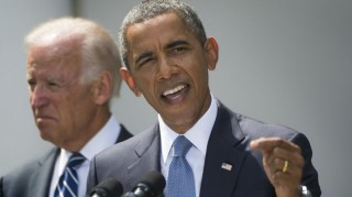 Was Biden backing up Obama with this Turkey claims, or getting out in front?