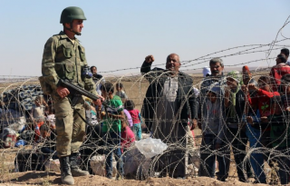 Open air prison for innocent refugees
