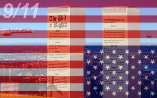 9-11_Patriot_Act_Bill_Of_Rights_Twin_Towers_False_Flag