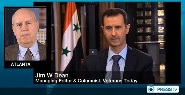 Jim Dean_PressTV interview_US-Syrian Army