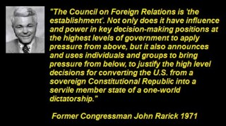 John Rarick on Council on Foreign Relations