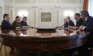 Sisi Putin Meeting