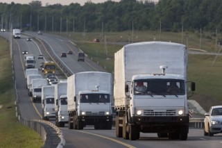 Aid to Luhansk and Donetsk