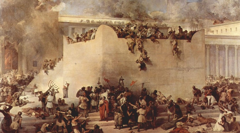 The destruction of the Temple still hangs over even non religious Jews in Israel