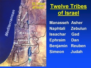 The twelve tribes...always fought each other then, and still are