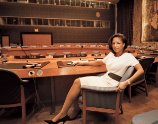 The US ambassador to the UN Susan Rice