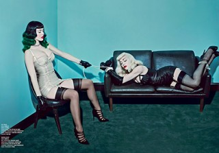 Katy Perry & Madonna