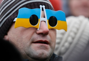 Are many in the Separatist Republics looking through rose colored glasses - joining Russia like Crimea?