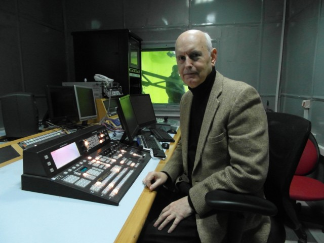 Jim Dean at the Controls, Damascus, Syria