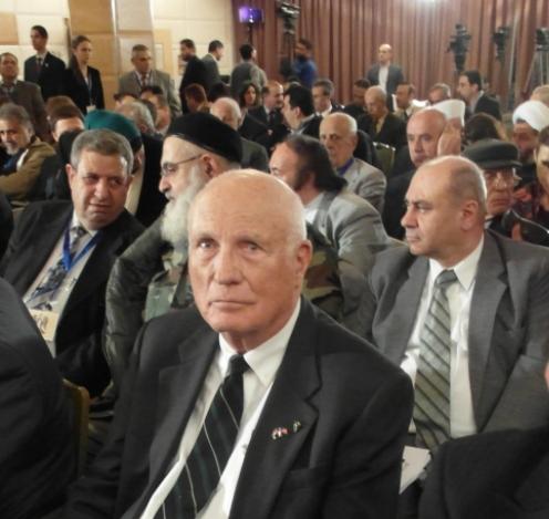 VT's Colonel Jim Hanke, former Attache to Israel
