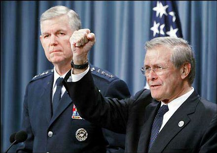 General Richard Myers - the Bush NeoCons had to have a totally dependable asset at the Pentagon for 9-11