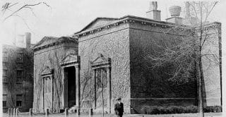 The Skull and Bones house...New Haven, Conn.