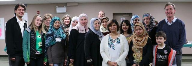 "26 January, 2015. The Youth of Calgary Alberta Canada Respond to Ayatollah Khamenei's Advice. Saima Jamal Organizes ""Understanding Muslims and Islamophobia."" The Main Speaker Is Imam Fayaz Tilly, Muslim Chaplain at the University of Calgary."