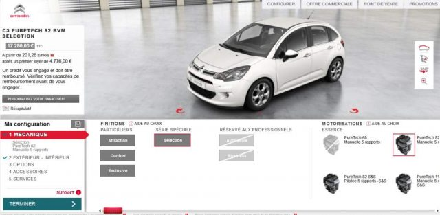 """French Citroen with chrome mirrors, the model claimed to """"not exist"""" from VT Paris"""