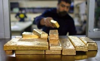 Gold prices also get run up during sanctions wars