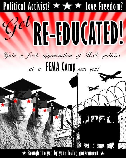 Fema Camp re-educate yourself (2)
