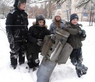 Gorlikva was heavily shelled. The kids need a break