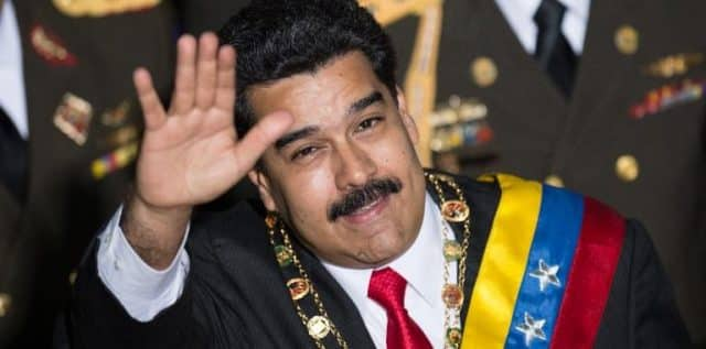 Maduro has the gringos on his back once again
