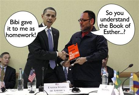 Gilad Atzmon helped Obama prepare his Knesset speech
