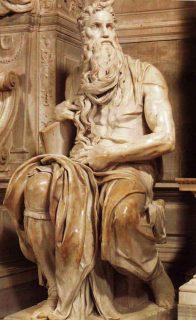 Moses, Michelangelo, Church of San Pietro in Vincola