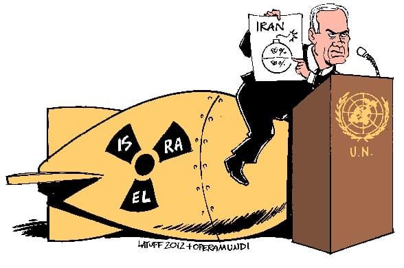 Netanyahu_at_UN_by_Latuff