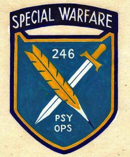 Psychological warfare patch