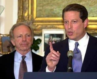 Lieberman and Gore