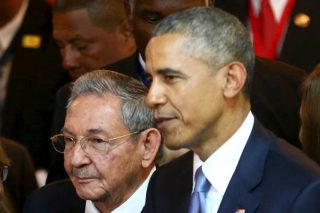 Obama and Castro rattled the NeoCons cage this weekend