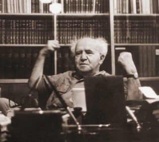 Ben Gurion was furious that  the world's Jews did not bring all their cash to Israel