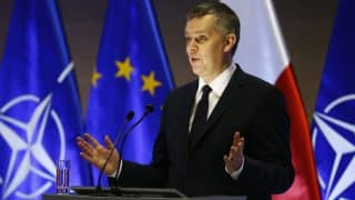 Minister Tomasz Siemoniak