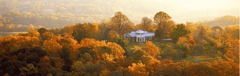 With a view into Eternity from Monticello, what would Jefferson say?
