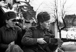 WW2 Russian snipers