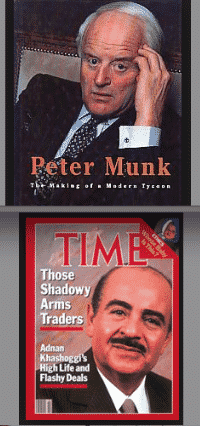 Canadian Zionist Operative Peter Munk and CIA-Backed Saudi Arms Deal, Adnan Khashoggi, Worked With Former US President George H. W. Bush to Develop Barrick Gold as a Vehicle to Lower Gold Prices and Thereby Maintain the Value of Saudi-American Petro-Dollars.