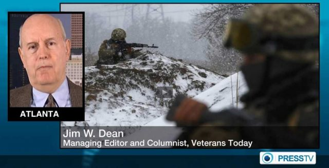 VT Front page_JimDean_Kerry pushing Kiev Minsk violations off on Moscow