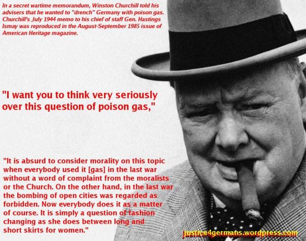 PM Winston Churchill on Poison Gas