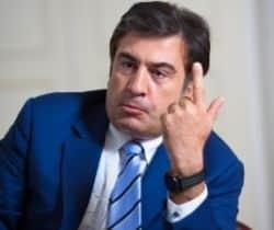 Mikheil Saakashvilli - disgraced Georgian leader