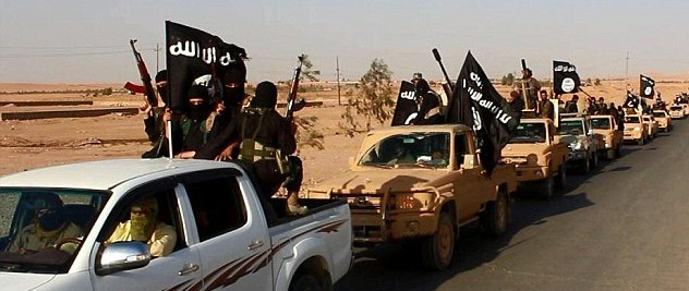Coalition airstrikes seem to be missing a lot of these convoys