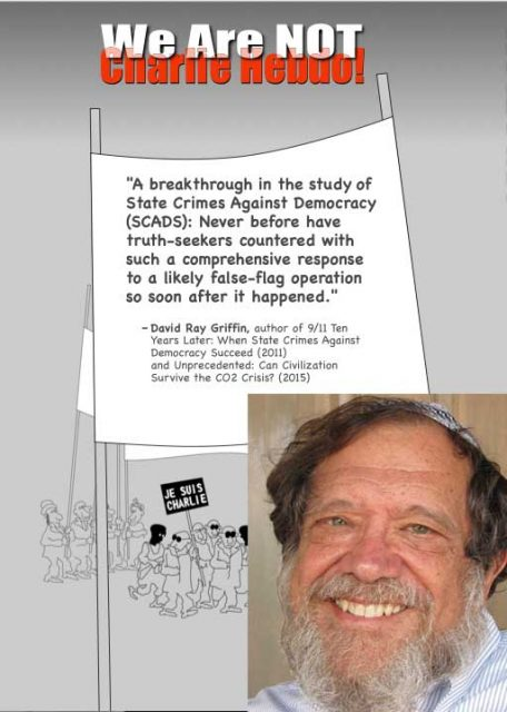 """Rabbi Michael Lerner disturbed Zionist fanatics by contributing to """"We Are NOT Charlie Hebdo"""""""