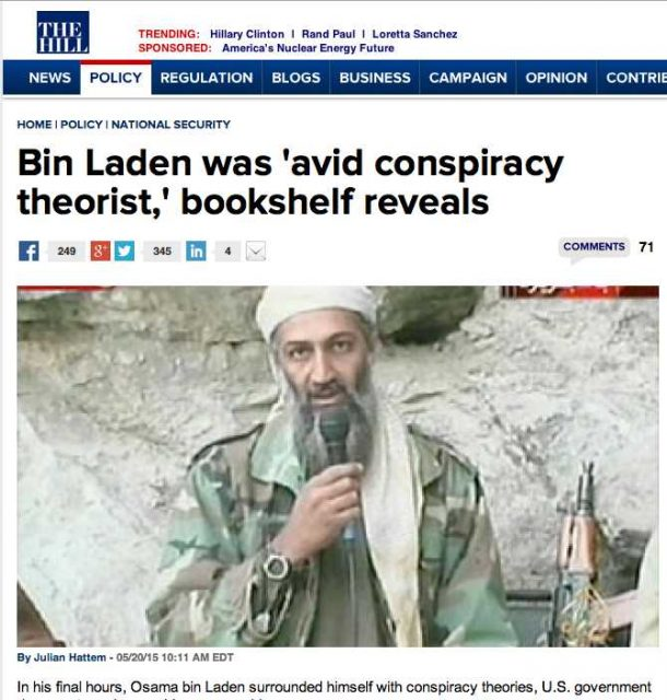 """The media puts a new face of the """"conspiracy theorist"""""""