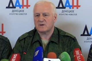 Kiev's Deputy Minister of Defense, Major-General Alexander Kolomiets defects
