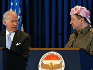 Biden and Massoud Marzani
