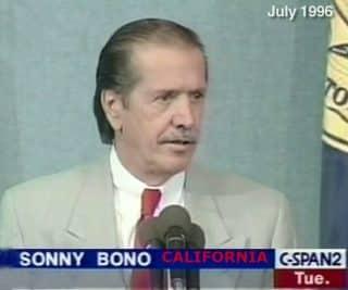 Congressman Sonny Bono
