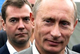 Putting, Medvedev and Lavrov have not flinched despite the mountain of lies thrown at them