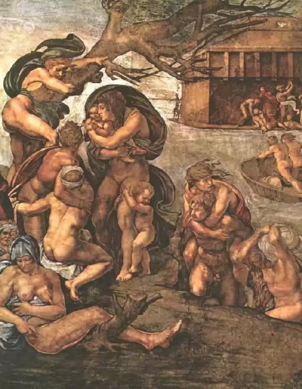 MichelangeloTheDeluge1509