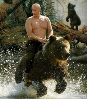 Westen media has tried to teat Putin down, but nothing has worked