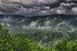 Smoky Mountain Rain - Dick Peschke Photo