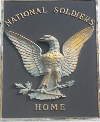 Historic Veterans plaque before vandalism