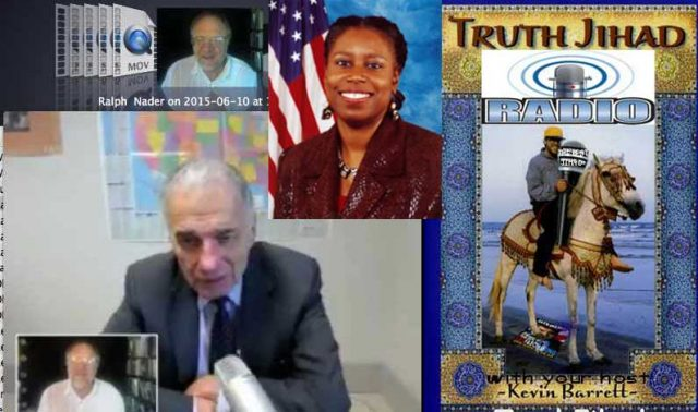 Ralph Nader & Cynthia McKinney know there's a BIG problem with 9/11